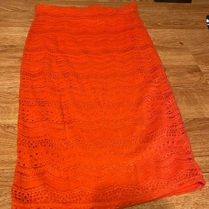 Charolette Russe- Coral skirt